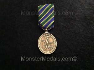 MINIATURE TERRITORIAL ARMY CENTENARY MEDAL (COMMEMORATIVE)